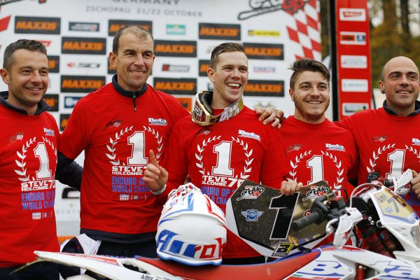 Steve Holcombe e BETA Campioni del Mondo Enduro GP